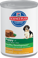 Hill's Science Plan Puppy Healthy Development Savoury Chicken, 0,37 кг