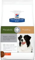 Hill's Prescription Diet Metabolic + Mobility Canine Chicken 12 кг